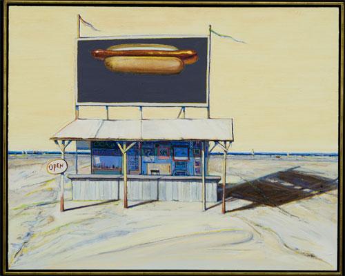 Hot_dog_stand wayne thiebaud 2005